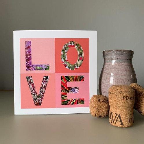 LOVE Blank Card