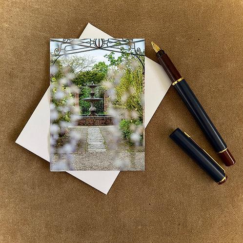 The Fountain Blank Mini Photocard