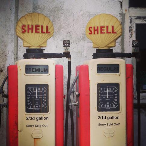 VIntage Petrol Pumps
