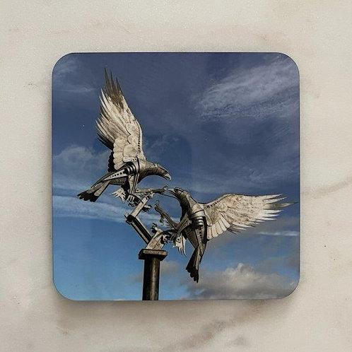 Buzzard Sculpture Coaster