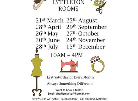 Lyttleton Rooms Craft Fairs - Malvern
