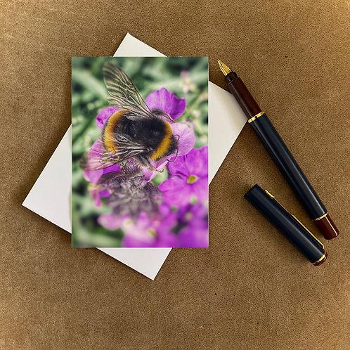 Busy Bee Blank Mini Photocard