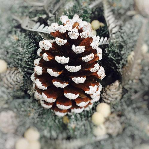 Christmas Decoration - Cone Christmas Card