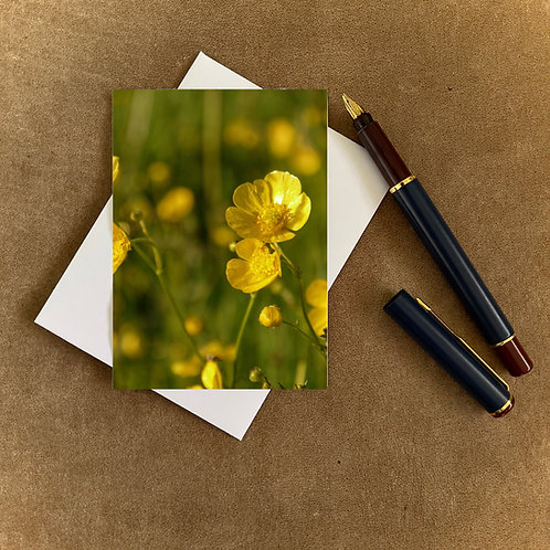 Buttercups Blank Mini Photocard