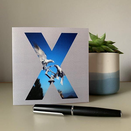 'X' Blank Card