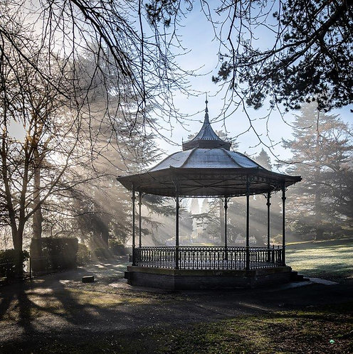 The Bandstand Blank Card