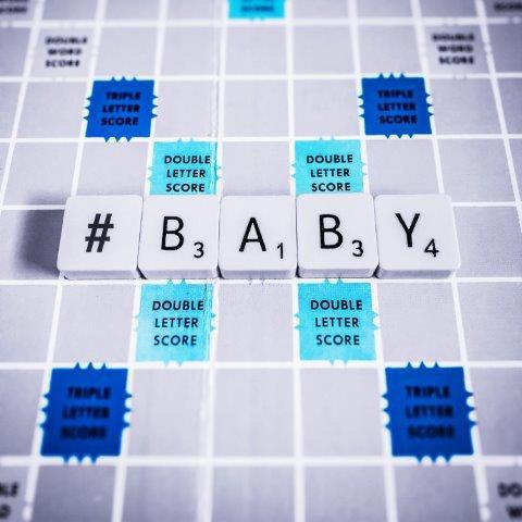 Baby Boy Blank Card