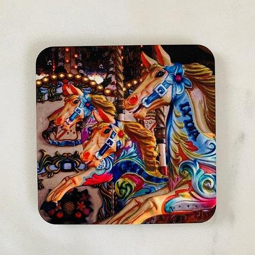 Merry-go-round Horses Coaster