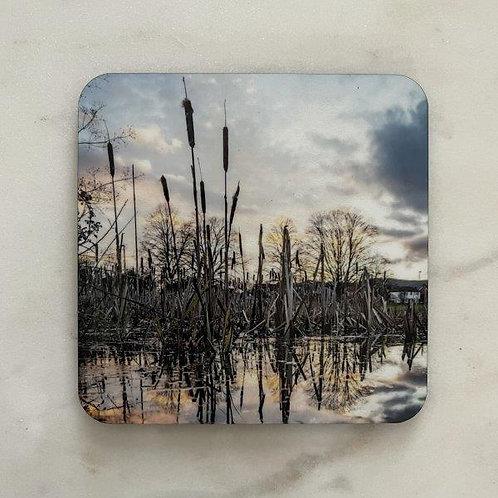 Sunset Pond Coaster