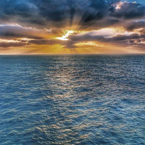 The open seas