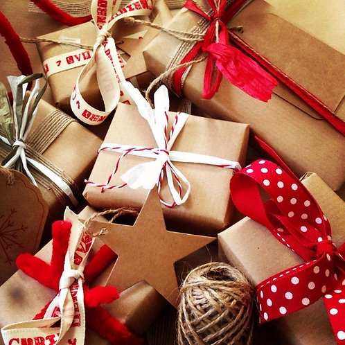 Christmas Presents Blank Card