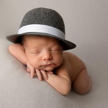 Newborn Shoot for Baby Dominic