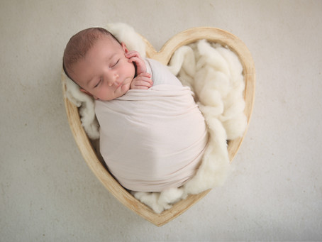 Introducing: The Petite Wrapped Newborn Session