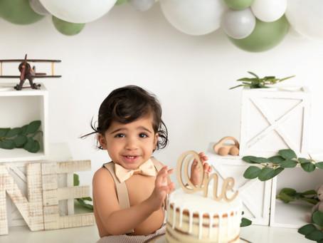 Birthday Cake Smash!
