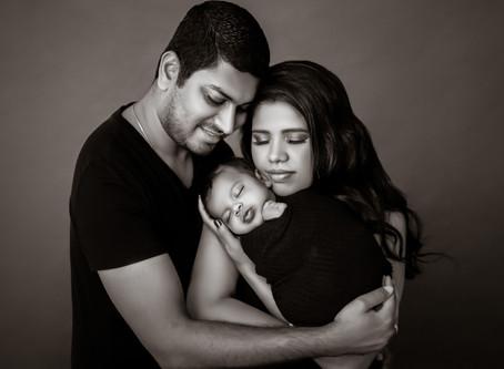 Newborn Session: Baby Aavyan