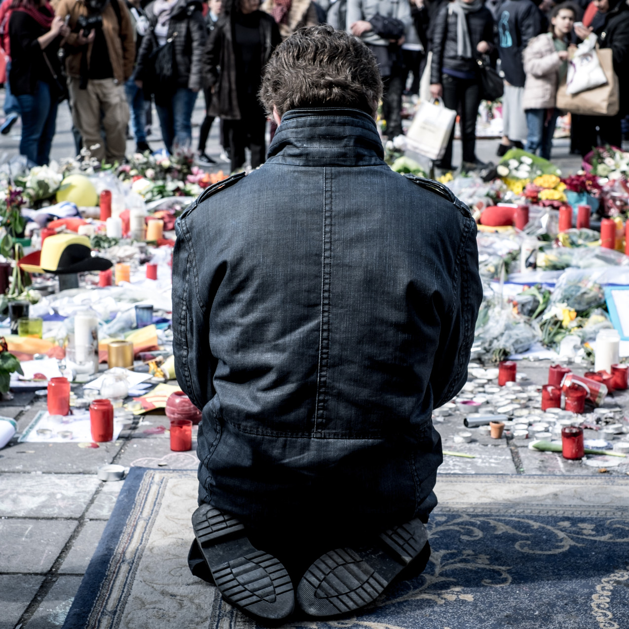 Brussels in mourning