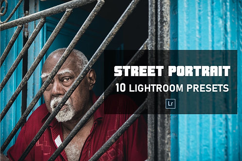 Street Portrait Pack - 10 Lightroom Presets