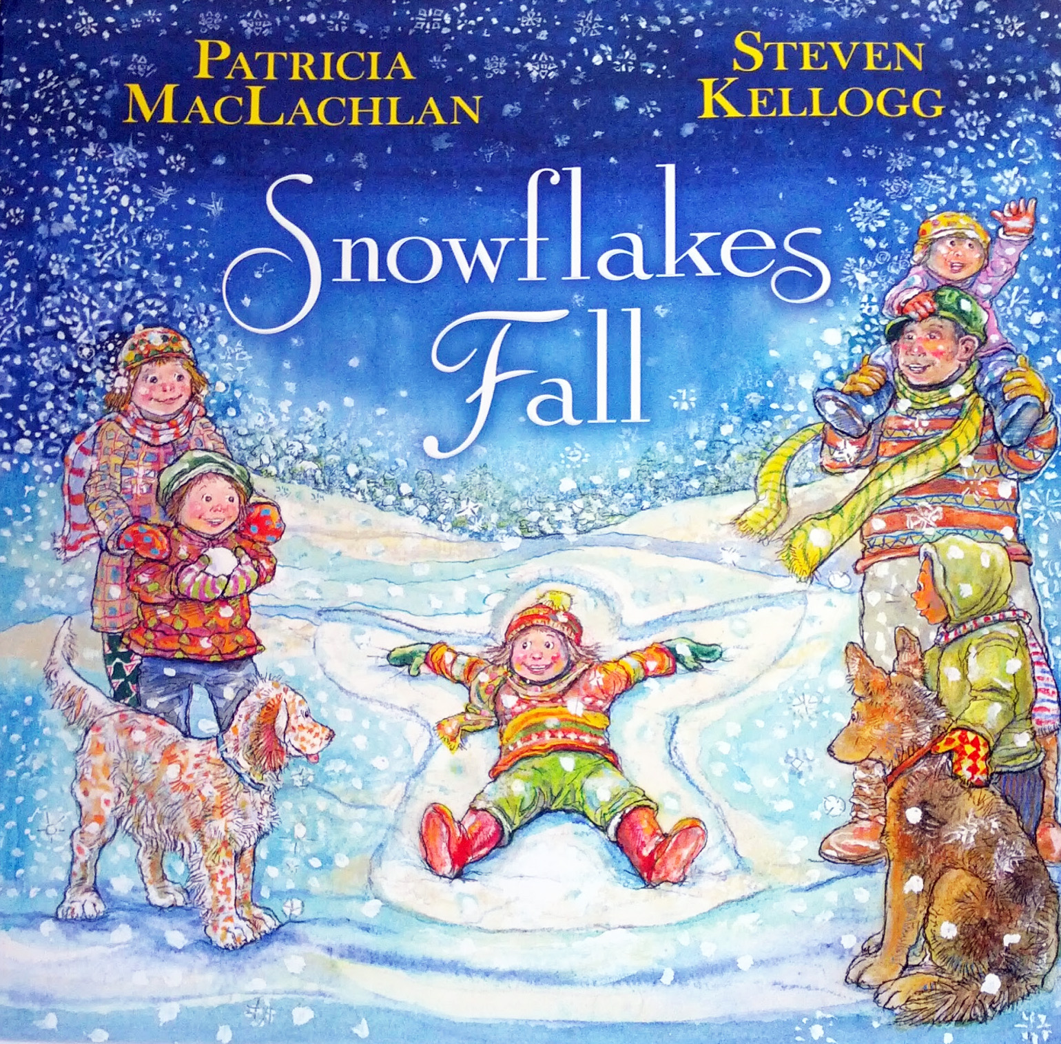 SNOWFLAKES FALL cover