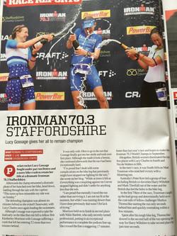 220 Triathlon Mag; IM Staffs 70.3
