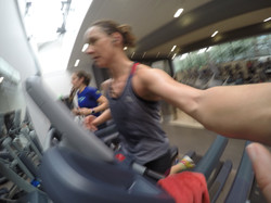 Classic Cheetham treadmill set