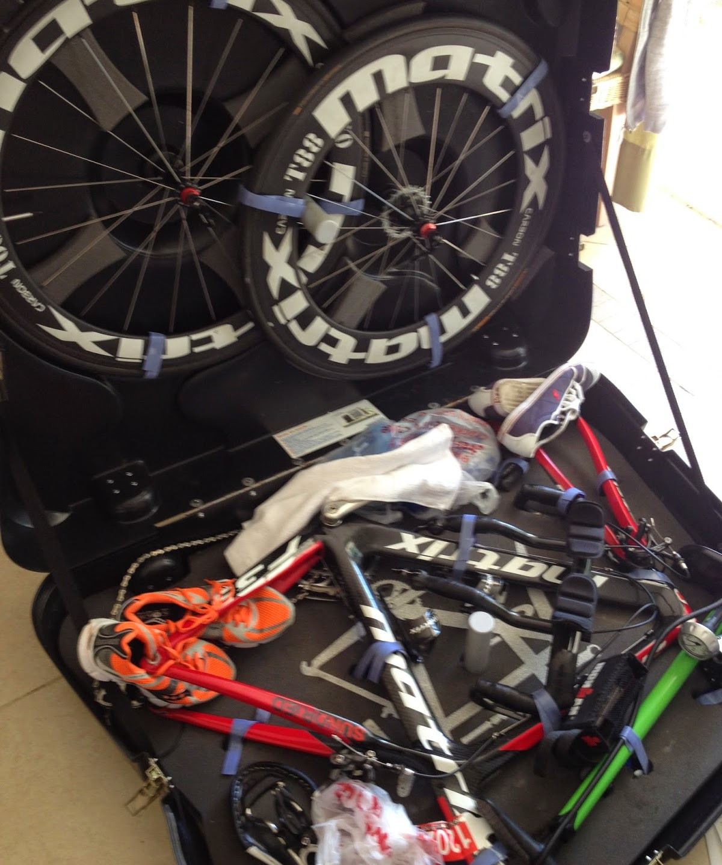 Time to unpack the bike