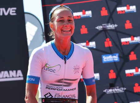 IRONMAN Edinburgh 70.3 and an exciting new move...