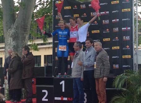 YUSSSSS!!! First Pro podium. 3rd place IRONMAN Pays d'Aix 70.3