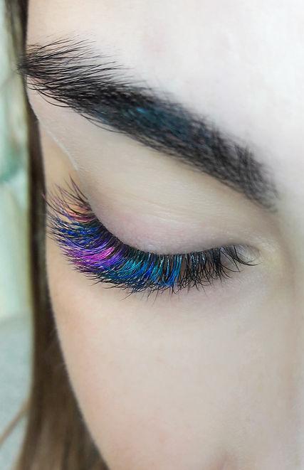 Colored eyelashes, eyelash extension.jpg