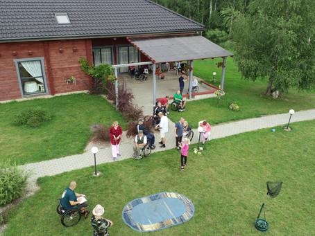Aktyvios reabilitacijos stovykla Raižiuose