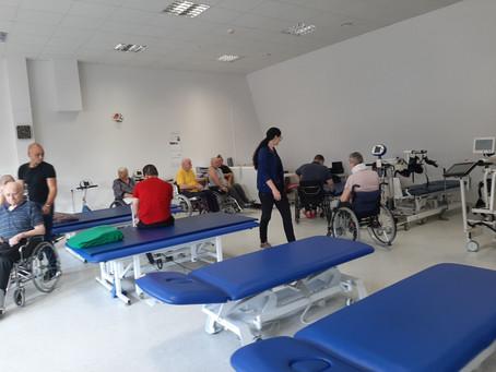 Aktyvios reabilitacijos stovykla Palangos reabilitacijos ligoninėje