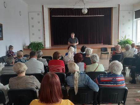 Aktyvios reabilitacijos seminaras Šiauliuose gyvenantiems neįgaliesiems