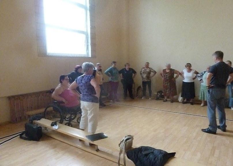 Lietuvos aktyvios reabilitacijos asociacijos seminaras Kupiškyje