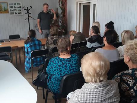 Aktyvios reabilitacijos seminaras neįgaliesiems Ukmergėje