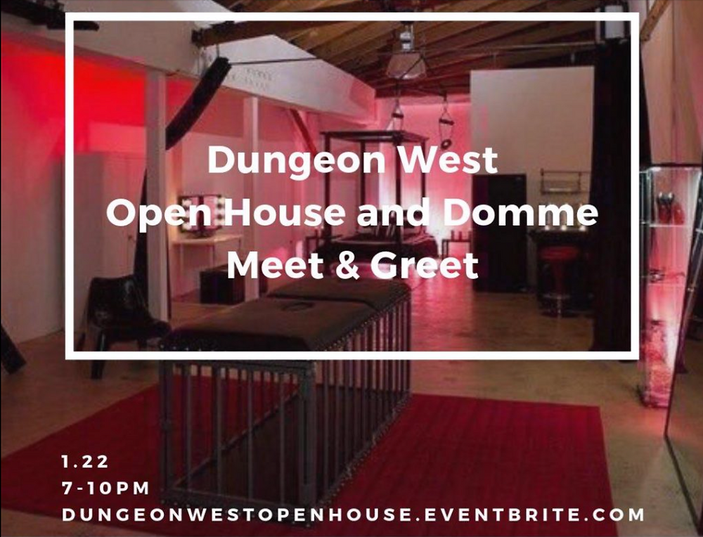 Dungeon West Domme Meet & Greet