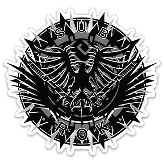 "SUB|ROK RECORDS ""Emblem"" Sticker (Dye-Cut)"