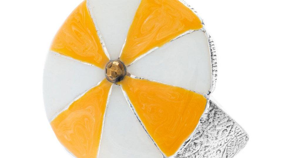 BAGUE BAIN DE MINUIT Parasol jaune
