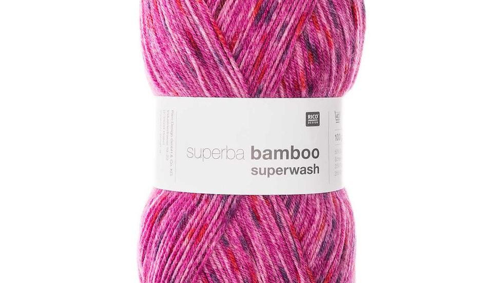 Superba Bamboo laine à chaussettes Rico