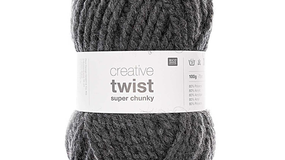 Creative twist super chunky anthracite