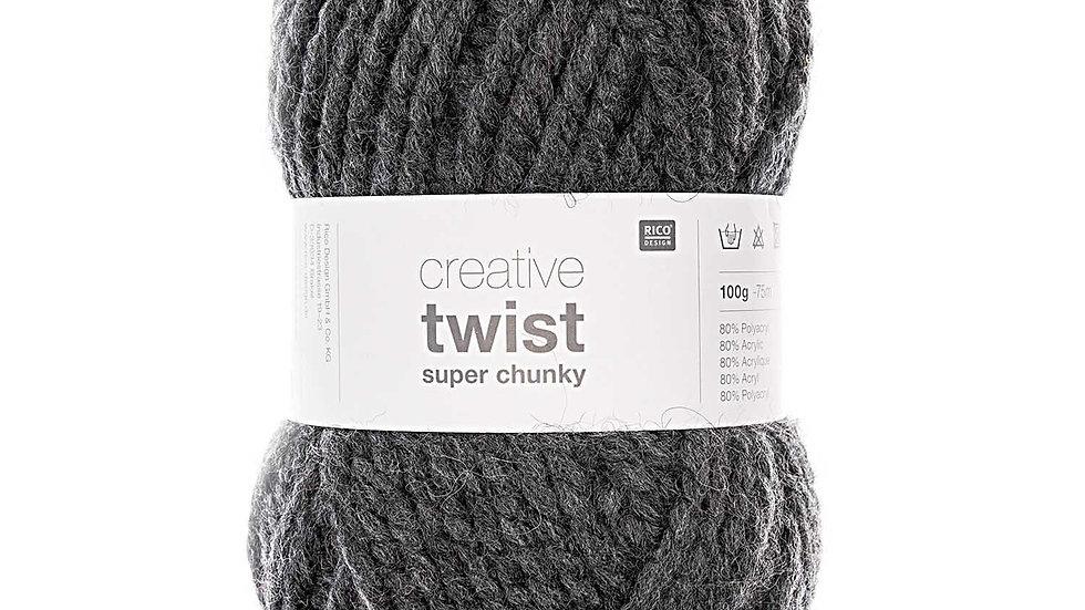 Creative twist super chunky anthracite