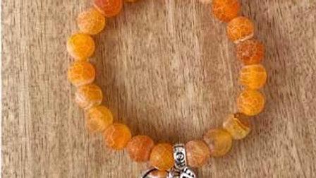 Bracelet pierres naturelles Agate Brik