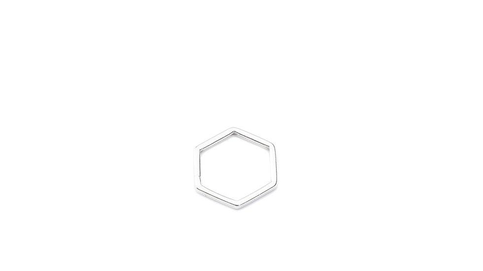 Connecteur intercalaire hexagone 17mm