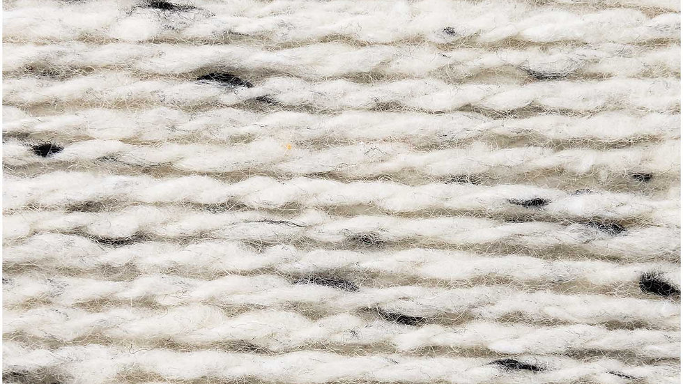 Fashion Modern Tweed Aran Creme