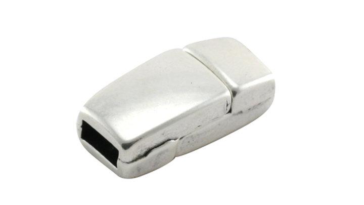 Fermoir Magnétique pour cuir plat 5mm 17×8.2 x 1 pièce