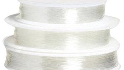 Fil nylon élastique 0.8mm