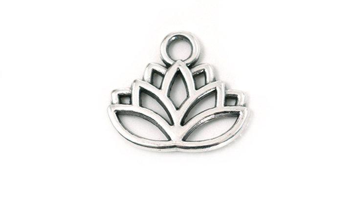 Feuille Lotus métal