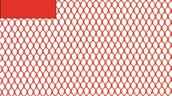 Tissu filet Mesh Fabric rouge