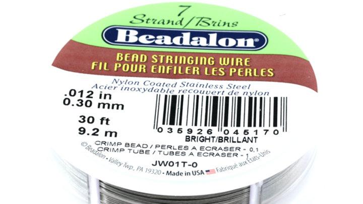 Bobine 9.20M Fil câblé 0.31mm (0.12″) 7fils