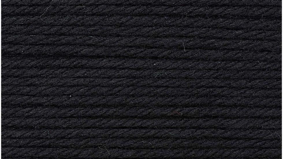 Essentials Mega Wool Chunky Noir