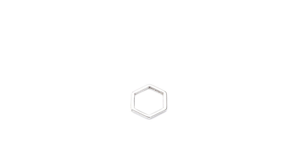Connecteur intercalaire mini hexagone 10mm