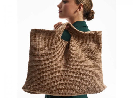 Tuto sac en chanvre Creativ Natur de Rico Design
